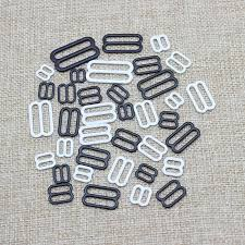 Belt <b>buckle</b> Coated black type 9 metal bar <b>Buckles</b> clips for Lingerie ...