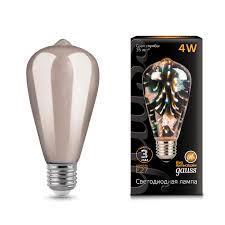 <b>Лампа Gauss</b> LED <b>3D</b>-<b>Butterfly</b> E27 4W в Москве - Купить недорого ...