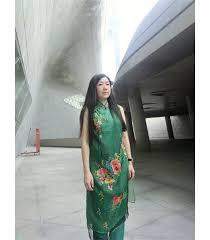 Charming <b>Embroidery</b> Peony <b>Chinese Clothing</b> - GoodOrient