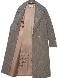 <b>Gucci пальто</b> с вышивкой паейтками | Одежда | Пальто, Зимняя ...
