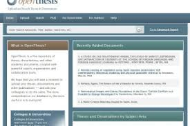 Online dissertation and thesis repository Valley Orthopaedic Specialists
