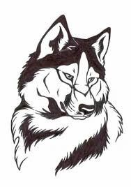 Картинки по запросу волки рисунки тату