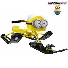 37018 <b>Снегокат Snow Moto MINION</b> Despicable ME yellow