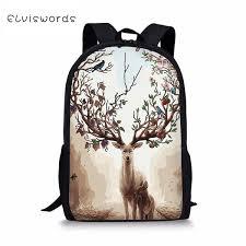 <b>ELVISWORDS Fashion Children'S</b> Backpack Fantastic Deer ...