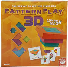 MindWare Pattern Play 3D Game: Toys & Games - Amazon.com