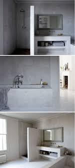 plaster bathroom