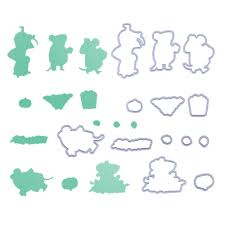 Buy <b>Metal Cutting</b> Dies Stencils for DIY Scrapbooking Photo Album ...