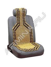 <b>Накидка на сиденье Nova</b> Bright деревянная массажная ...
