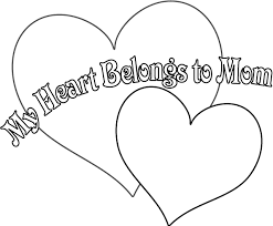 Small Picture I Love You Mom Coloring Pages