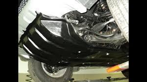 8 Установка <b>композитной защита картера</b> двигателя и ...