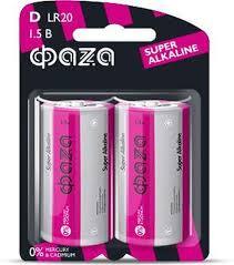 <b>Батарейка ФАZA</b> Super Alkaline, розовый, D, 2 шт