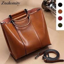 <b>Znakomity</b> Handbags women's genuine leather <b>Shoulder bag</b> ...