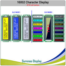 Left Interface 162 16X2 <b>1602 Character LCD</b> Module Display ...