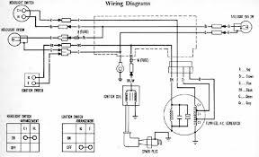 honda generator wiring diagram  honda cb  g electrical wiring    honda generator wiring diagram