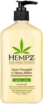 Hempz <b>Natural Herbal</b> Body <b>Moisturizer</b>: Sweet Pineapple & Honey ...