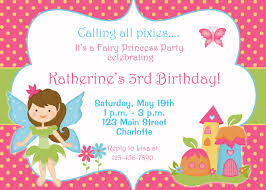 fairy birthday party invitations home party ideas fairy birthday party invitations