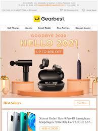 gearbest ES: Goodbye 2020,Hello 2021! New Year Top Deals Up ...