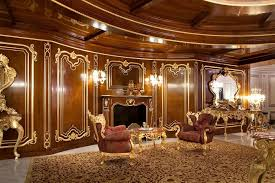 glamorous brown victorian style living room with antique gold color scheme wood materials living room antique victorian living room