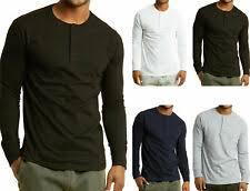 Мужские <b>футболки</b> Henley купить на eBay США с доставкой в ...