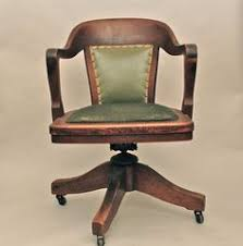 love a library or bankers chair like this for my antique desk antique office chair