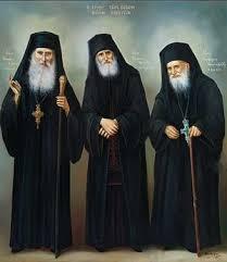 Старцы Иаков Эвбейский, <b>Паисий</b> Святогорец и Порфирий ...