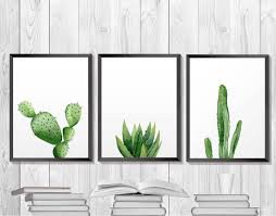 Green <b>plant</b> print. Cactus <b>Printable</b>. Botanical Southwestern Art ...