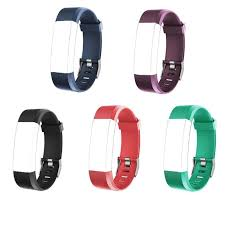 ID115 Plus Wrist Band Strap <b>Replacement Silicone</b> Watchband ...