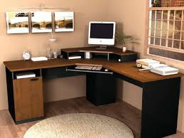 office corner computer desk in home design ideas used black color of and brown countertop white office desk components