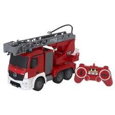 <b>Радиоуправляемая пожарная машина</b> Mercedes-Benz Actros 1:20