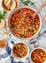 Many-Veggie <b>Vegetable Soup</b> Recipe - Love and Lemons