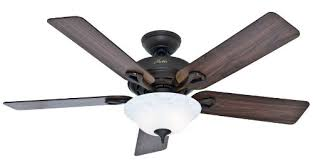 hunter 53048 kensington 52 inch new bronze ceiling fan with five walnutcherry blades with light kit amazoncom bronze ceiling fan