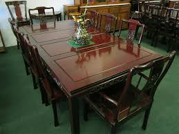 style dining table asian dining room furniture