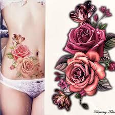 2020 New <b>Fashion Geometry</b> cool Temporary Tattoo Sticker Women ...