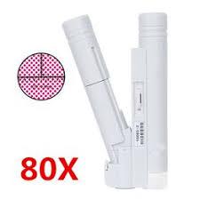 80X LED Portable Scale Microscope Double Tube ... - Vova