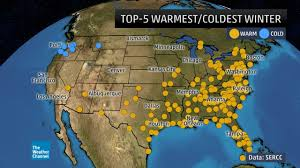 Where <b>Winter</b> 2016-17 Ranked as One of the Warmest, Coldest ...