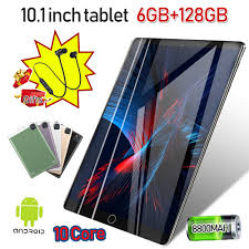 <b>2020 New 10.1</b>inch Large Screen 6+128G Tablet Only 100 ...