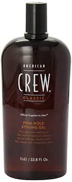 AMERICAN CREW Firm Hold Styling Gel, 33.8 Fl Oz ... - Amazon.com