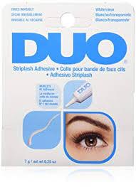 DUO Striplash Faux <b>Eyelash Adhesive</b> Water Proof Solution, Clear ...