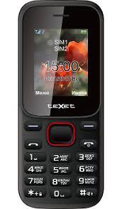 Купить <b>Телефон Texet TM</b>-<b>128</b> Black Red по выгодной цене в ...