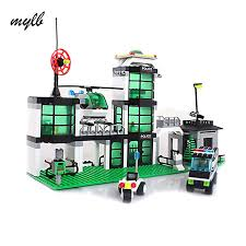 mylb <b>model building kits compatible</b> with city Hotel De Police 3D ...