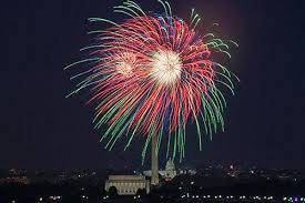 4th of July Fireworks on the National Mall