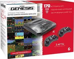 Игровая приставка Sega Retro Genesis Modern Wireless + 170 игр ...