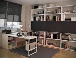 bedroom white wooden books shelves on the brown wooden flooring combined with white wooden study amazing space saving bedroom ideas furniture