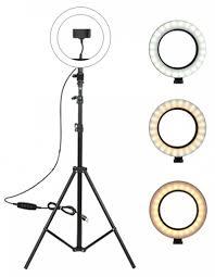 Купить черную кольцевую LED-<b>лампу</b> RK-42 в городе Краснодар