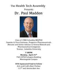 hta events health tech assembly hta presents dr paul maddon