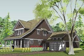 Craftsman House Plans and Bungalow Home Designs   modern open        Craftsman Unique Bungalow House Plan   Bayport Bungalow