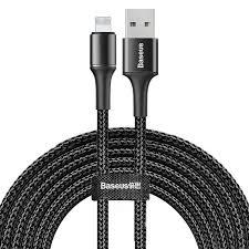 Lightning кабель <b>Baseus Halo</b> Data Cable <b>USB</b> For iP 2A 3м чёрный