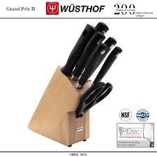 Набор кухонных <b>ножей</b> Grand Prix II, 7 предметов на <b>подставке</b> ...