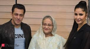 Salman, Katrina pose with <b>Sheikh</b> Hasina; 'Bharat' stars perform at ...