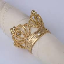 Buy <b>crown napkin ring</b> and get free shipping on AliExpress